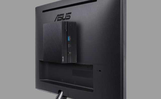 La compatibilità VESA permette di montare i Mini PC ASUS dietro lo schermo