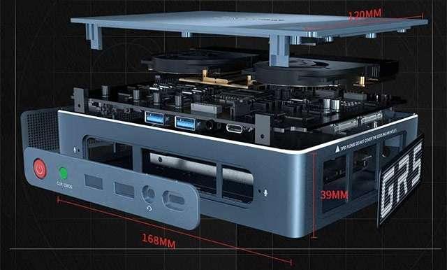 Beelink GTR, il Mini PC di fascia alta