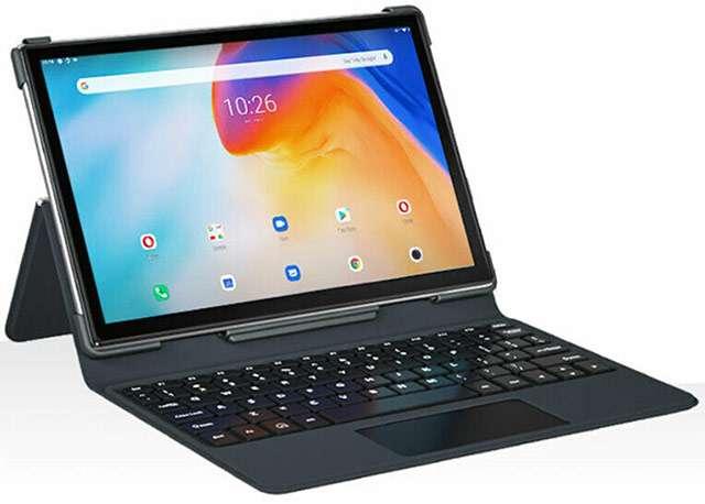 Il tablet Blackview Tab8 con tastiera fisica