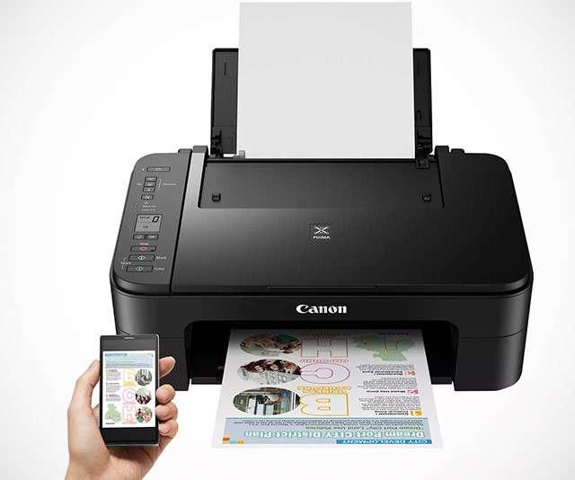 La stampante Canon PIXMA TS3350 a getto d'inchiostro