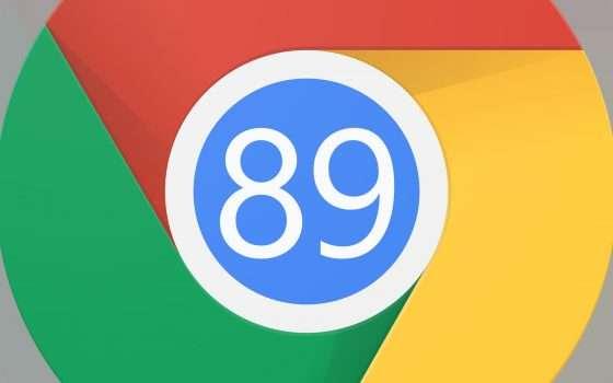 Chrome 89 consuma meno RAM su Windows