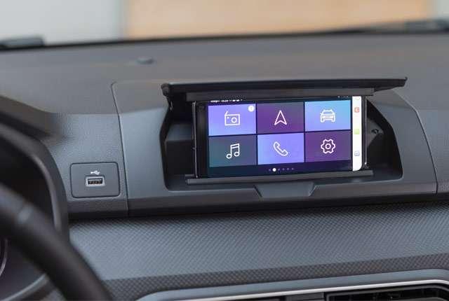 Dacia Media Control: lo smartphone come sistema di infotainment in auto