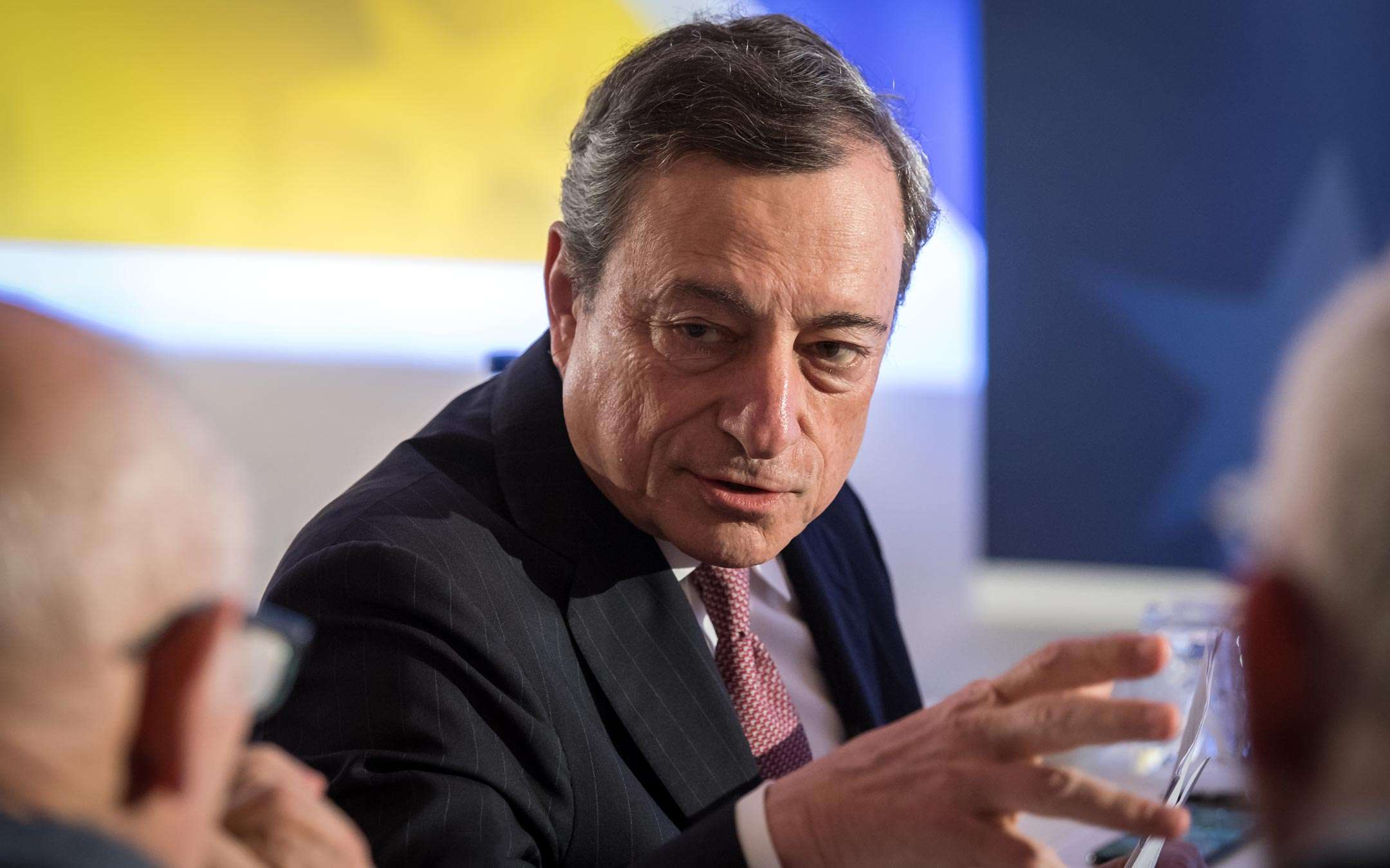 When Draghi walked straight into Bitcoin