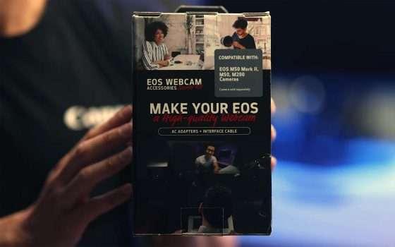 Canon: così le fotocamere EOS diventano webcam
