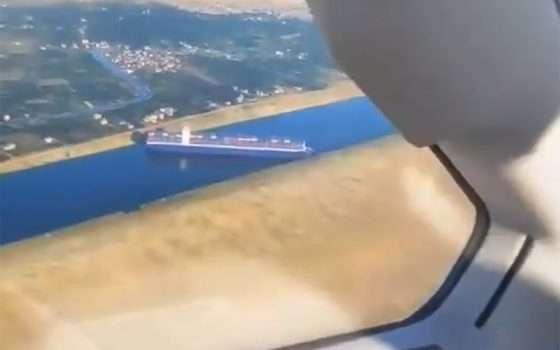 Canale di Suez bloccato anche su Flight Simulator