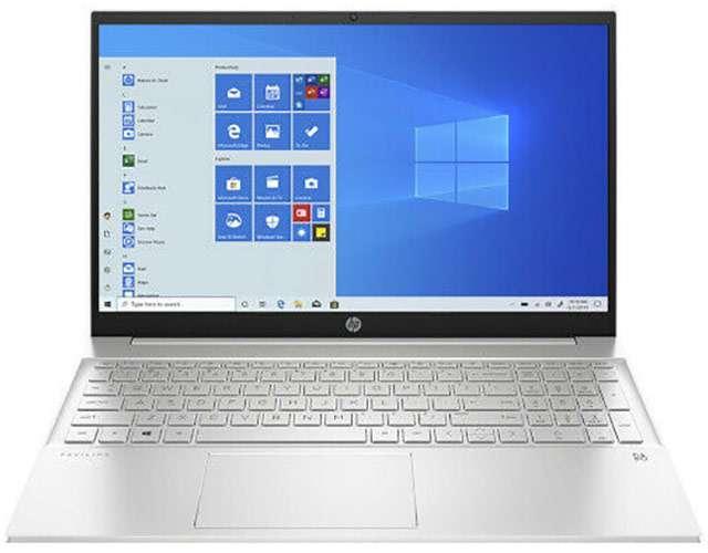 Il laptop HP 15s con processore AMD Ryzen 7