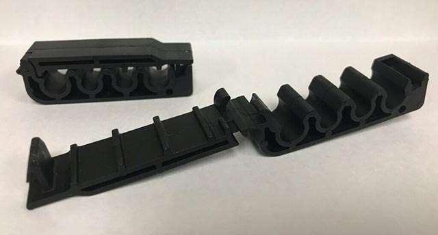 Le componenti realizzati da Ford e HP grazie alla stampa 3D partendo da rifiuti