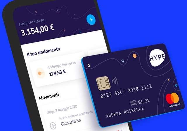 La soluzione di HYPE per la gestione del conto