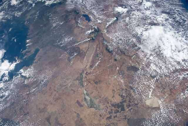 Una delle fotografie scattate dalla ISS e impiegate dal progetto AMASS