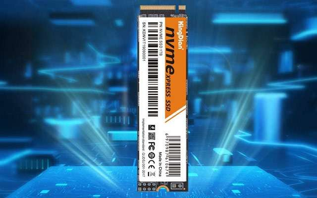 L'unità SSD di KingDian proposta in offerta su Amazon