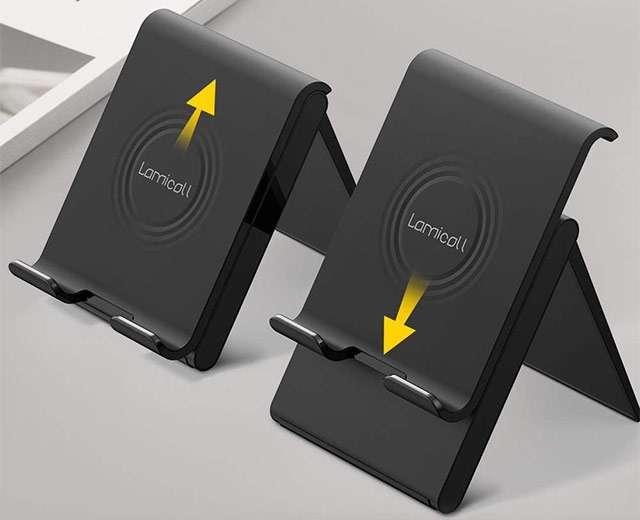 Il supporto per tablet di Lamicall, regolabile in altezza