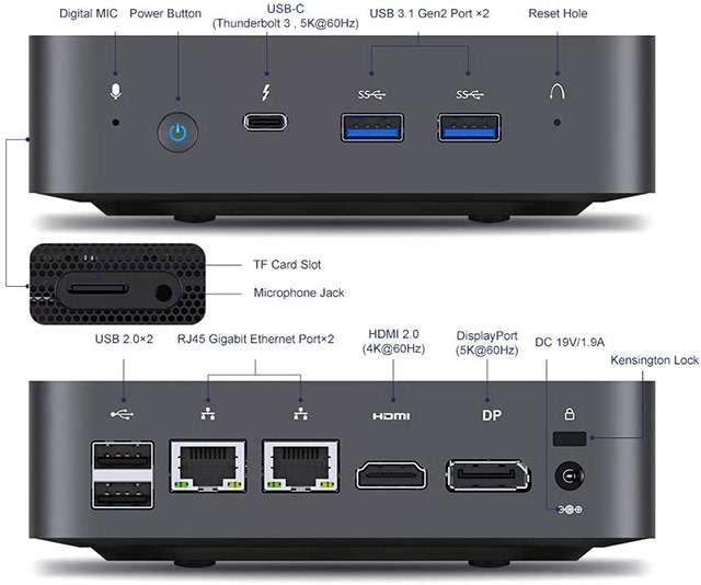 MinisForum X35G, il Mini PC con processore Intel Core i3