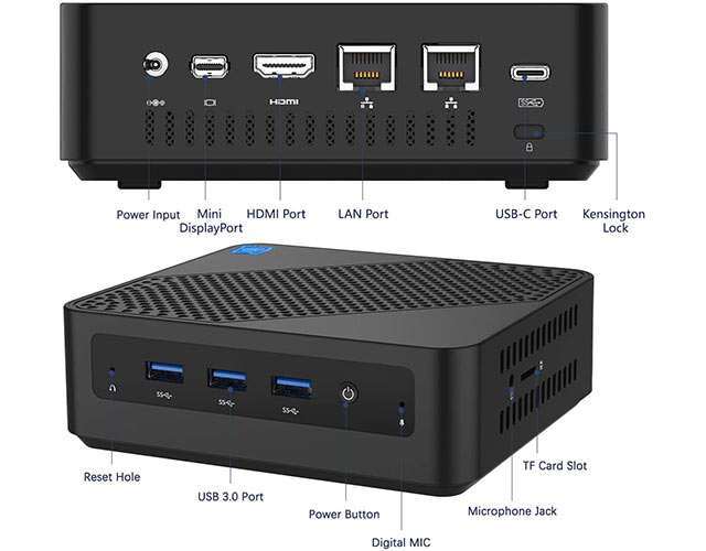 MinisForum U700, Mini PC con processore Intel Core