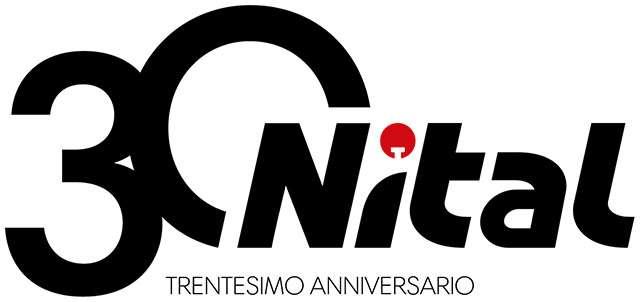 Il nuovo logo di Nital nell'edizione per il 30esimo anniversario