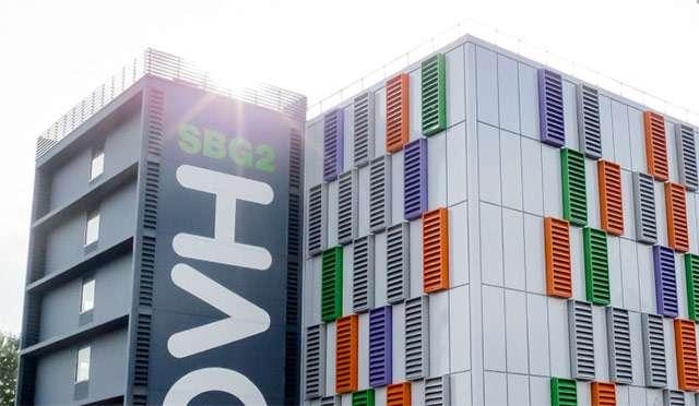 Il data center SBG2 di OVH a Strasburgo