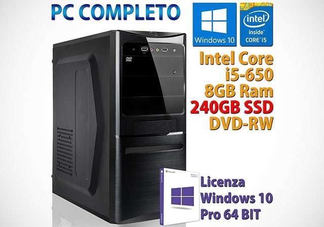 Il PC desktop completo in offerta su eBay