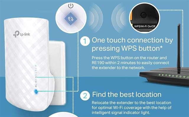 Il ripetitore WiFi dual band di TP-Link