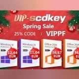 VIP-SCDKey, sconti invernali: Windows 10 Pro OEM solo 12€