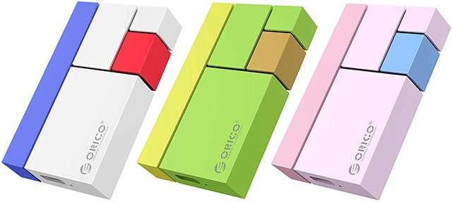La SSD portatile di Orico disponibile in diversi tagli e colorazioni differenti