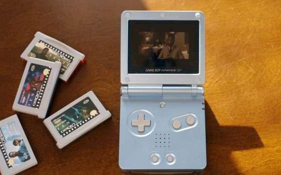 Tenet su cartucce Game Boy Advance: si può fare