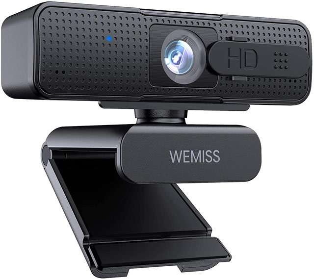 La webcam 1080p di Wemiss