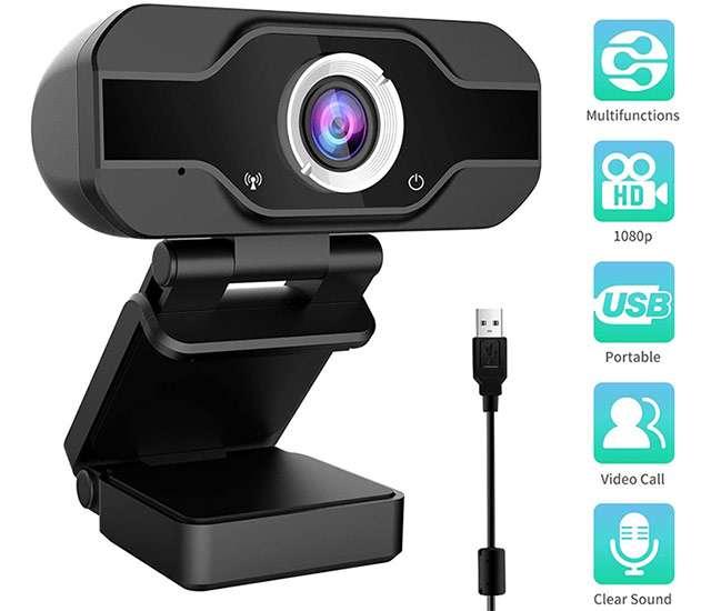 La webcam 1080p di Aiglam oggi in offerta lampo su Amazon