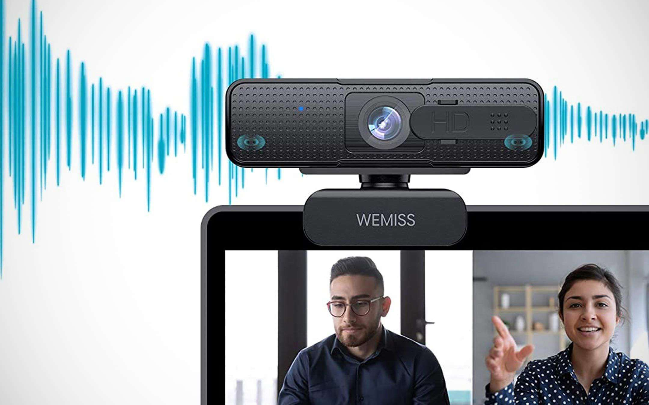 1080p webcam for smart working and DaD on offer