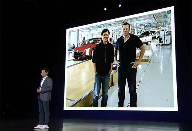Anche Elon Musk sul palco dell'evento Xiaomi