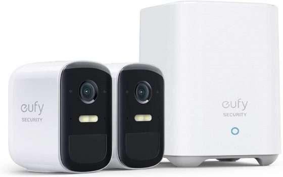 Kit di videosorveglianza eufyCam 2C Pro scontato di 90€