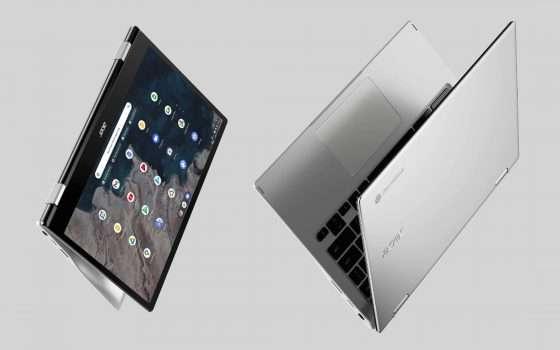 Acer Chromebook Spin 513 in offerta su Amazon