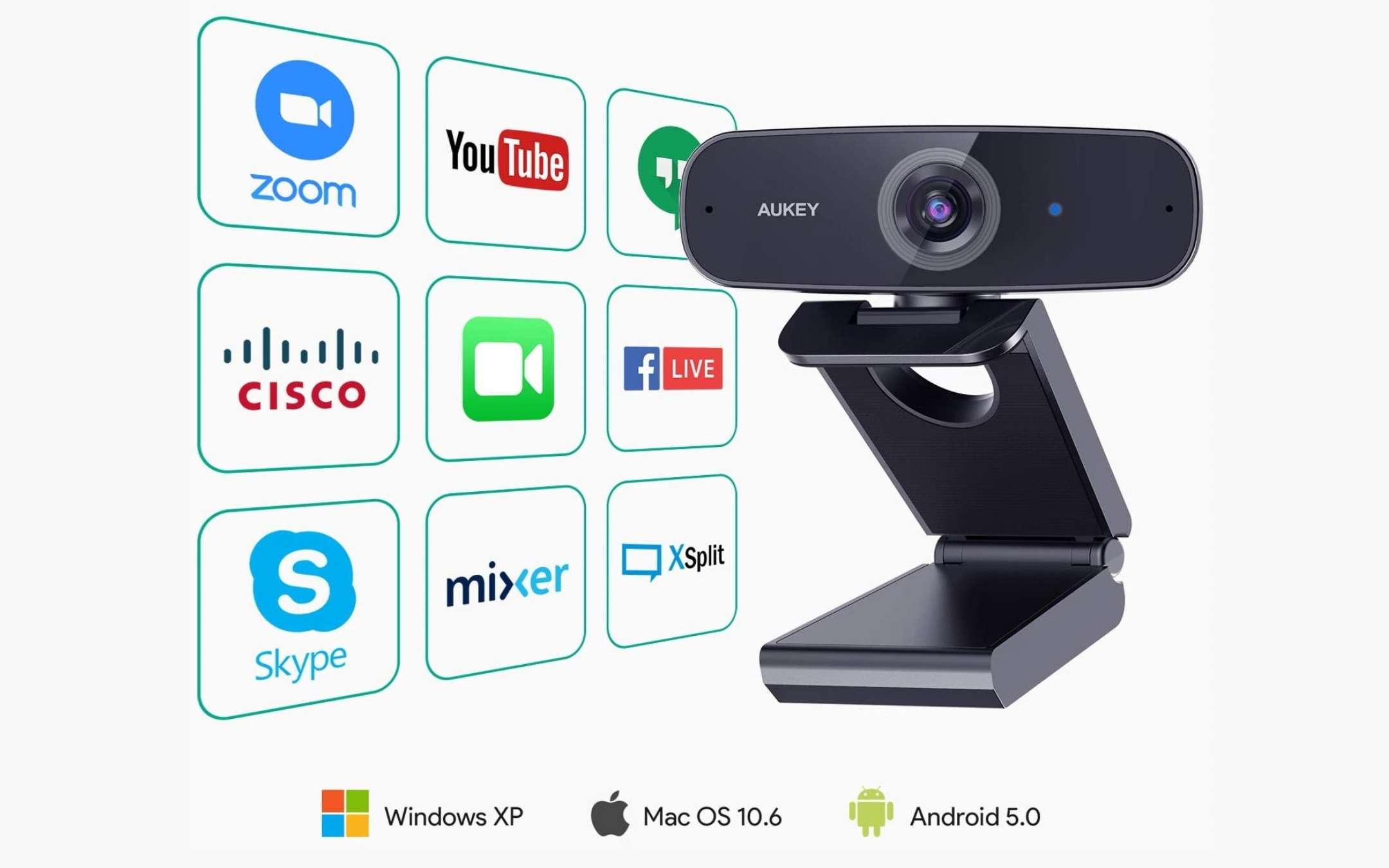 Webcam Aukey PC-W3 - 2