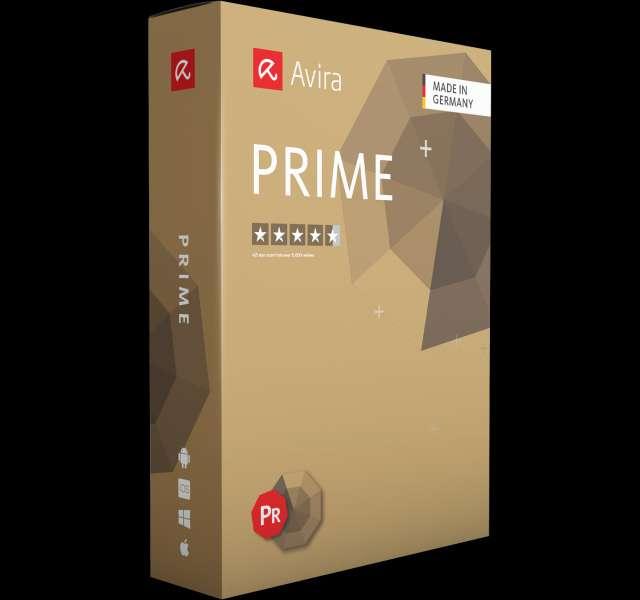 Avira Prime box