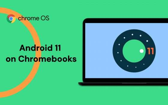 Chrome OS 90 supporterà Android 11