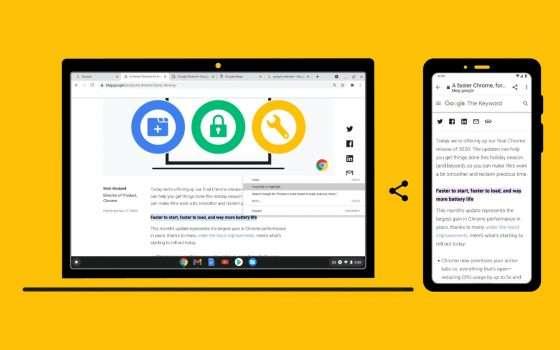 Google Chrome: novità per la produttività