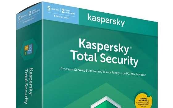 Kaspersky Total Security: sconto del 40%