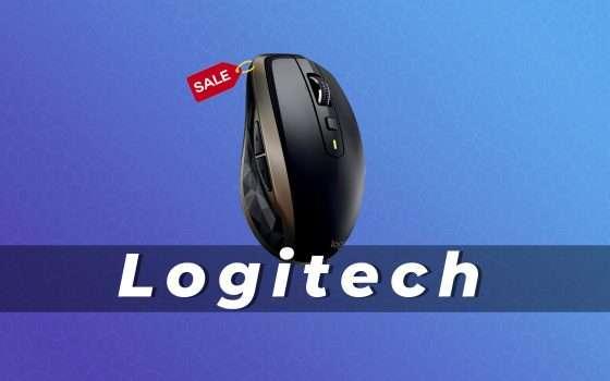 Logitech MX Anywhere 2: mouse in offerta su Amazon (-31%)