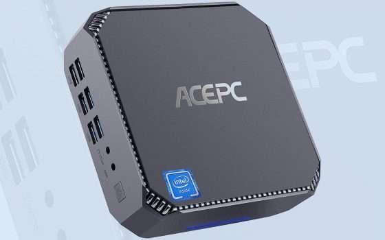 Mini PC, offerta lampo: ACEPC CK2, sconto del 15%