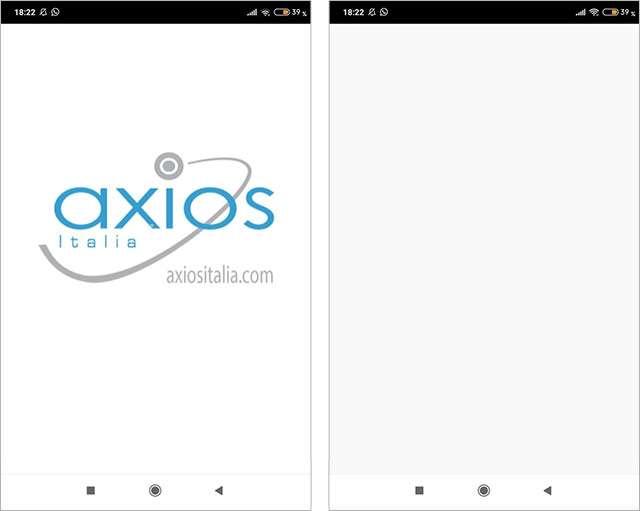 Il registro di Axios è bloccato da giorni