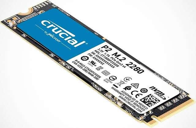 La SSD da 1 TB della linea Crucial P2