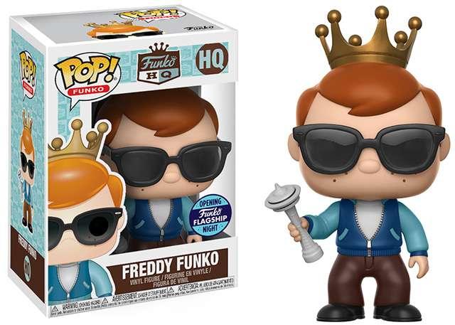 Un personaggio Funko Pop da collezione