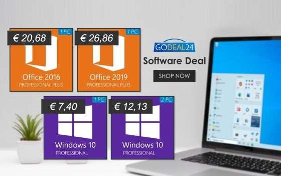 Solo 6€ licenza Windows 10 a vita: da non perdere