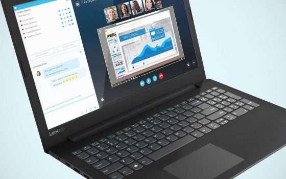 Il laptop Lenovo V145 a soli 349 euro su eBay