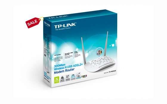 TP-Link: modem router in offerta a soli 18 euro