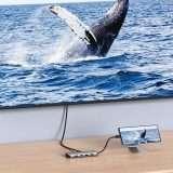 HUB USB-C 9 in 1 con HDMI 4K e PD in offerta