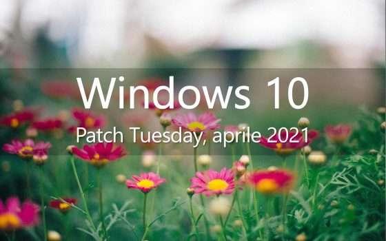 Windows 10, il Patch Tuesday di aprile in download
