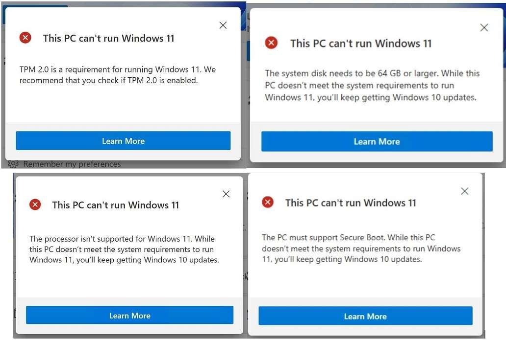 Comprobación de estado de PC con Windows 11