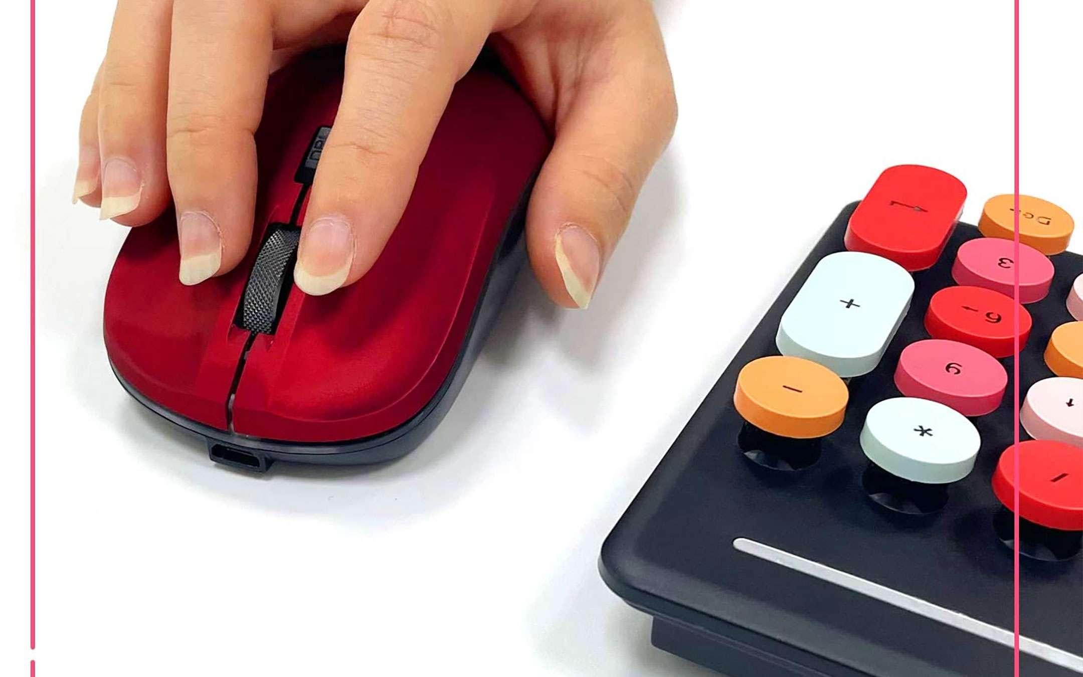 Kit mouse+tastiera wireless