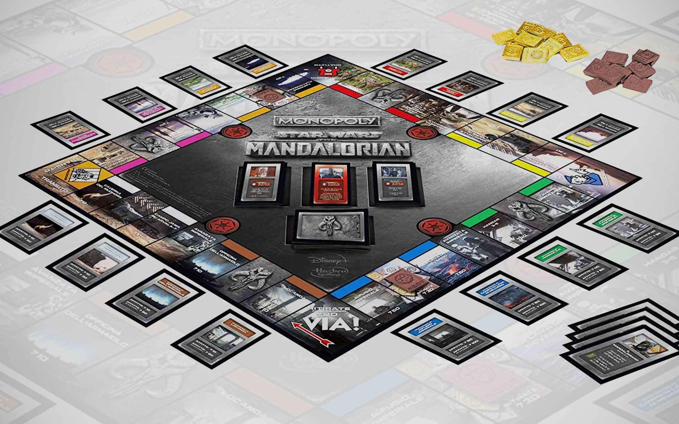 Monopoly edizione Star Wars The Mandalorian