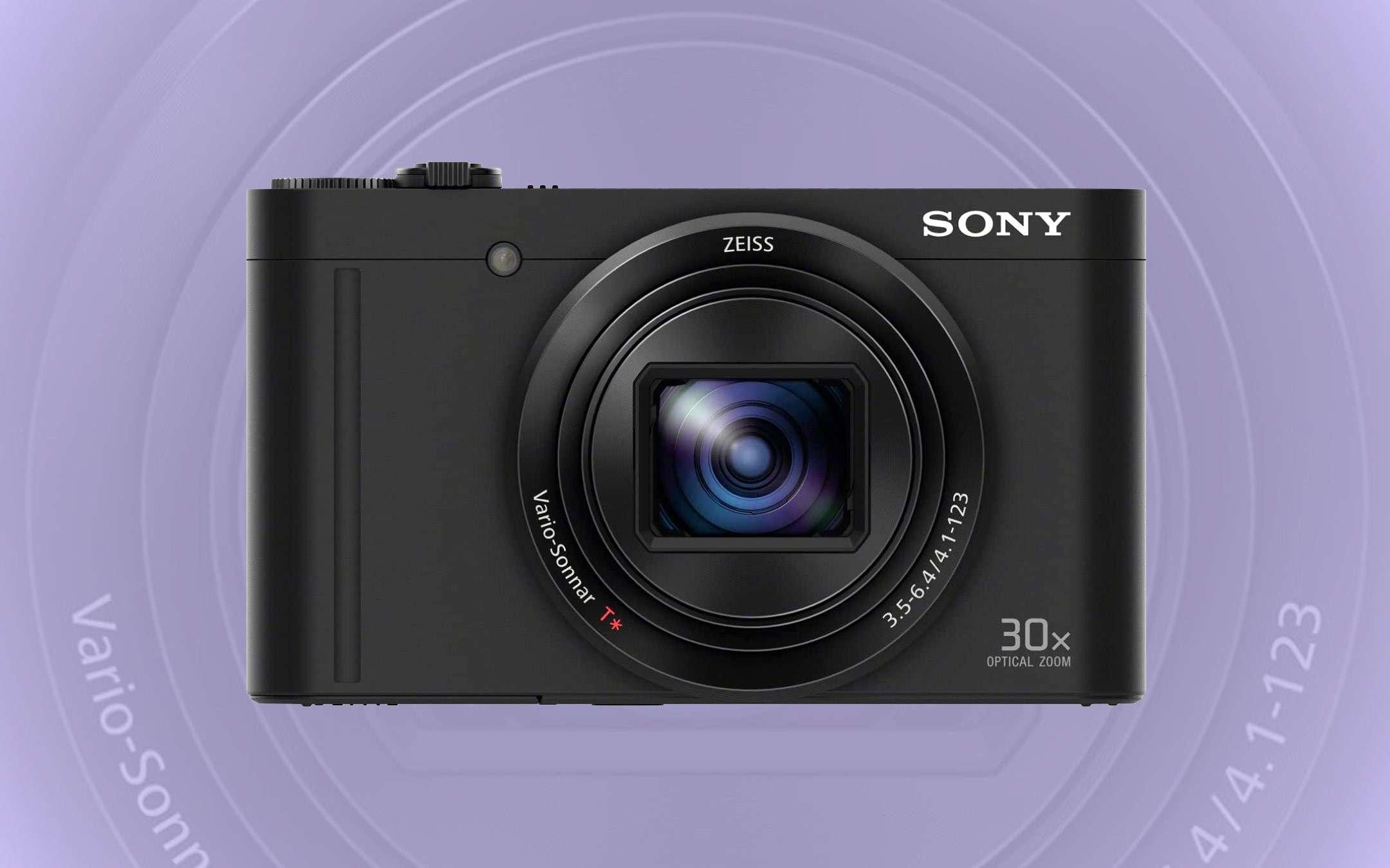 Prime Day: fotocamera Sony DSC-WX500, sconto FLASH