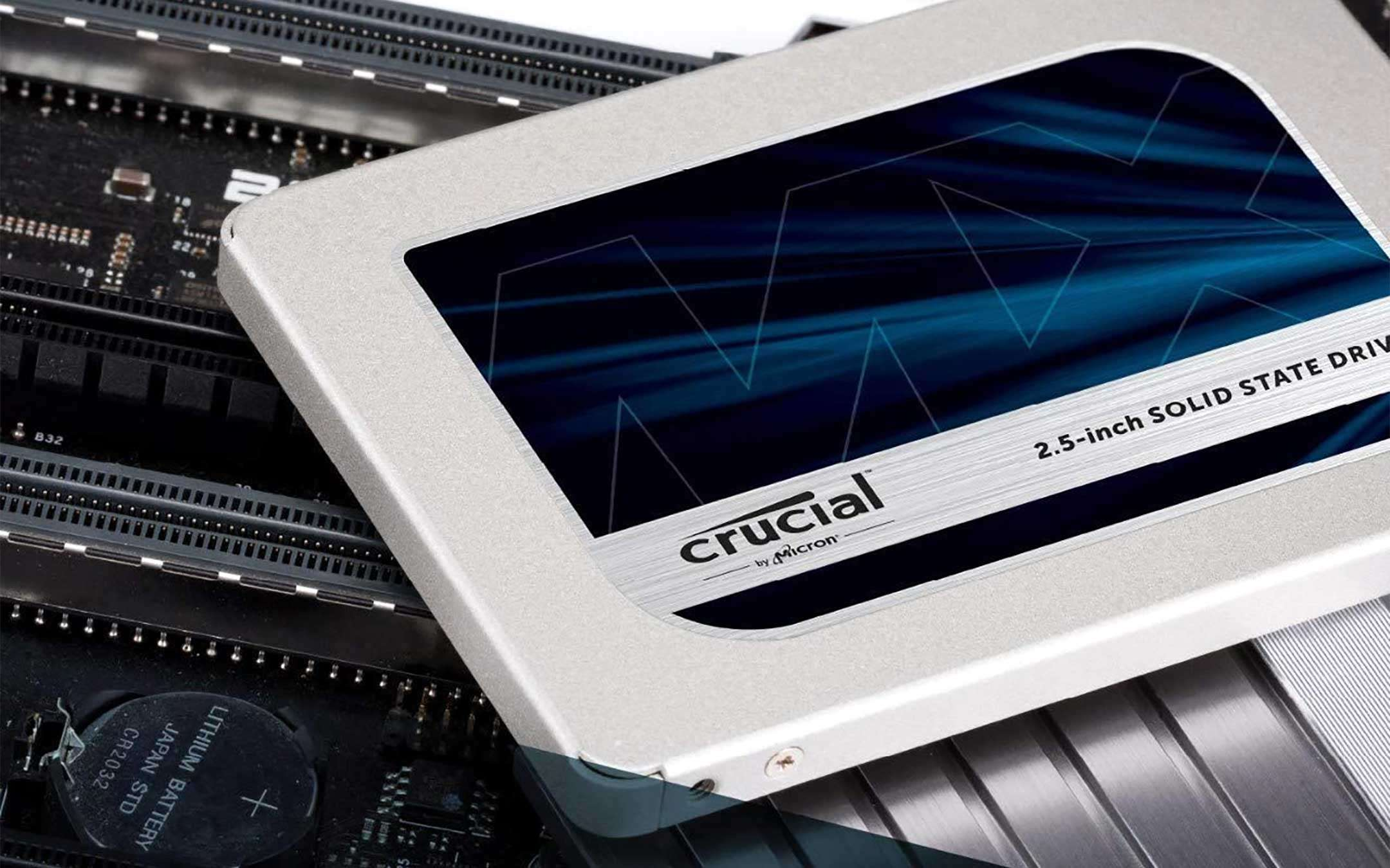 Crucial MX500, SSD